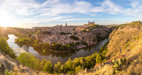Cityscape of Toledo, Spain