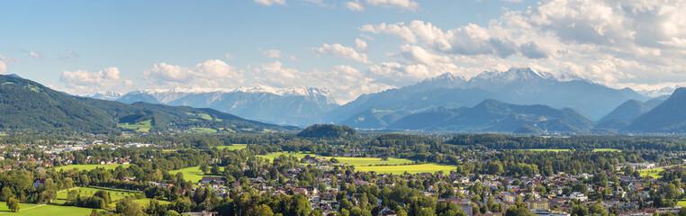 Panoramic view of Salzburg