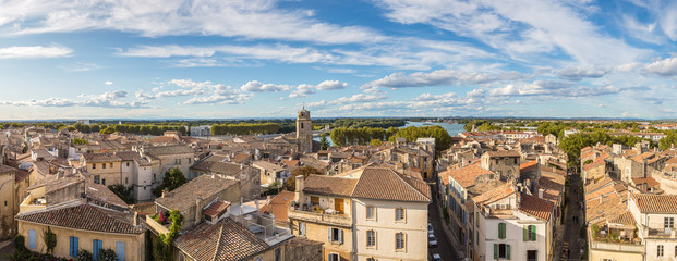 Aerial view of Arles, France Fototapete