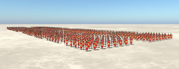Römische Legionäre des antiken Rom