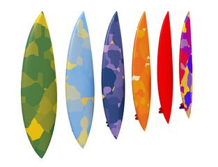 Surfbrett, Freisteller
