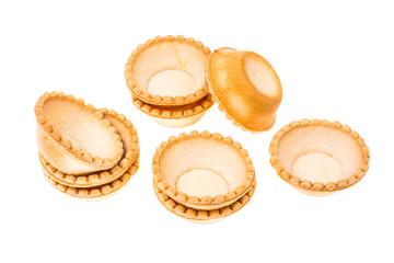 Tartlets from short pastry