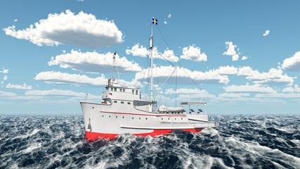 Thunfischfang Schiff