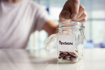 Saving and pension planning
