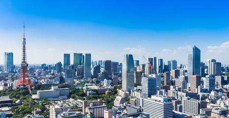 東京 都市風景