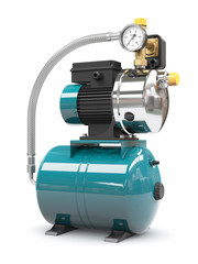 Household water pump station