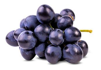 Fototapete - Fresh grapes isolated on white