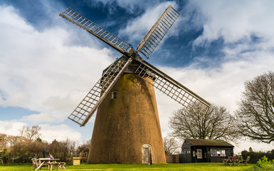 Bembridge Windmill,  Isle of Wight, England