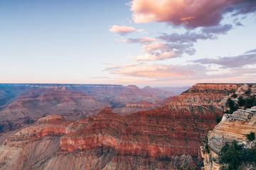 panoramic view of grand canyon, arizona