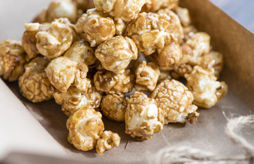 popcorn with chocolate flavor
