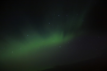 Northern Lights Dancing with Stars in Iceland