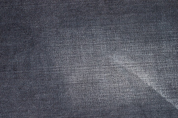 Natural black jeans texture background