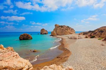 Garden Poster Cyprus Aphrodite Bucht,Zypern