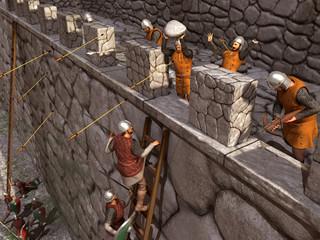 Asedio a un castillo medieval