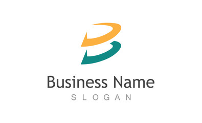 Letter B business logo