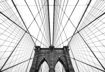 Tuinposter Brooklyn Bridge Brooklyn bridge of New York City, USA
