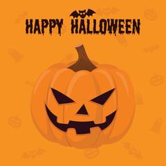 October Pumpkin. Halloween