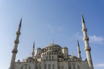 Sultan Ahmet Mosque Exterior, Istanbul, Turkey