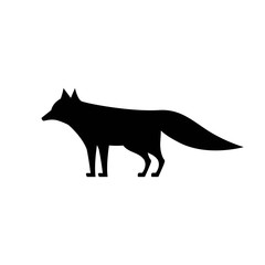 fox icon isolated vector
