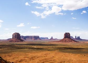 Artist Point - Monument Valley scenic panorama - Arizona, AZ, USA