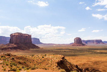 Artist Point - Monument Valley scenic panorama - Arizona, AZ, USA