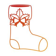 merry christmas socks decorative