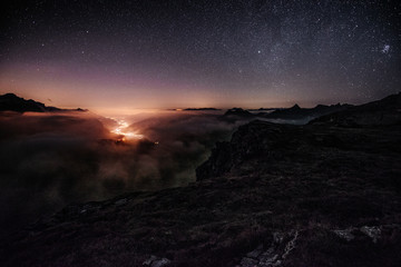 Nightscape from Leglerhutte