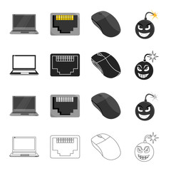 Computer, system, office and other web icon in cartoon style.Protection, block, antivirus, icons in set collection.