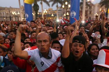 Soccer Football - 2018 World Cup Qualifications - South America - Peru- Lima, Peru, October 5, 2017.