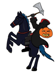 Headless Horseman - Coloured