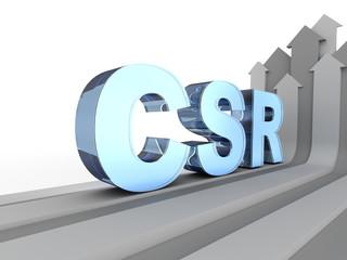 CSR acronym (Corporate social responsibility)