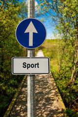 Schild 239 - Sport