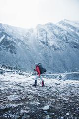 Trip to mountains of Siberia