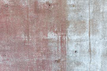 old broken concrete wall