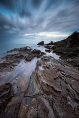 Sea rocks / Long exposure seascape with sea rocks at the Black sea coast, Bulgaria