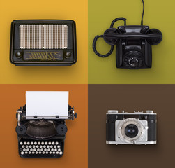Vintage media objects
