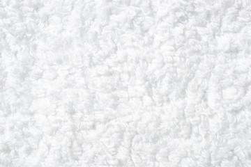 白いタオルのクローズアップ