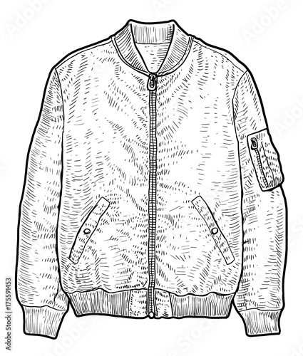 Line Drawing Jacket : Quot man jacket illustration drawing engraving ink line