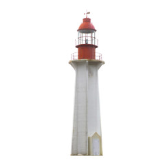 Lighthouse with red top