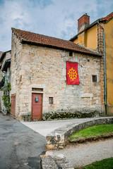 Dans les rues de Villeneuve d'Aveyron