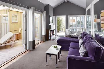 Modern Design Living Room of Tiny Home