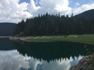 Beautiful Durmitor lake