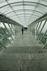 bridge over road