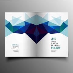 Beautiful company culture brochure template