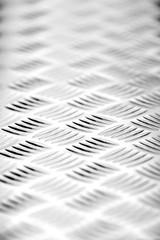 Checkered sheet metal