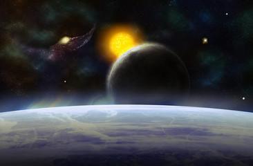Space. Sci fi.