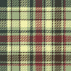 Green plaid diagonal seamless fabric texture