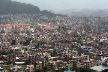 Nepal Kathmandu Himalayan panorama