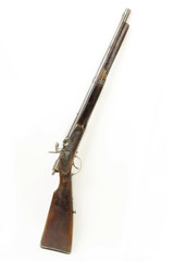 Percussion cap muzzle loader used in the 19. th century