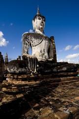 Buddha statue, Ayutthaya, Thailand, Southeast Asia, Asia